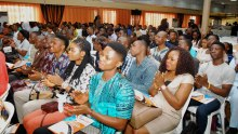 A gathering of young Nigerians used to illustrate the story [Photo: Guardian Newspaper]