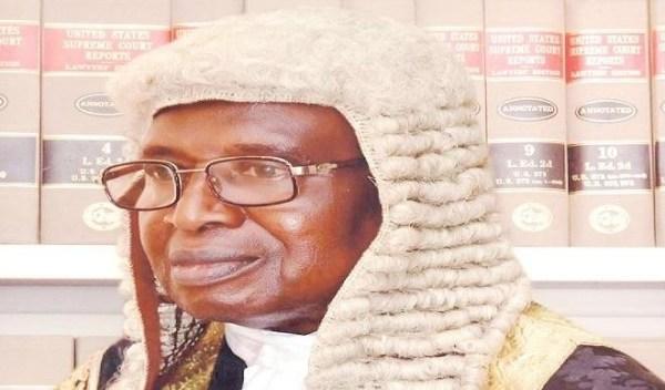 Retired Justice, Suleiman Galadima