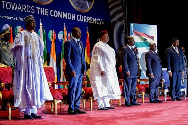 President Muhammadu Buhari attends the 4th Meeting of the Presidential Task Force on ECOWAS Single Currency in Niamey, Niger Republic.