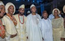 4. Bukola Saraki Daughter's Wedding in Lagos, 28th Oct 20173