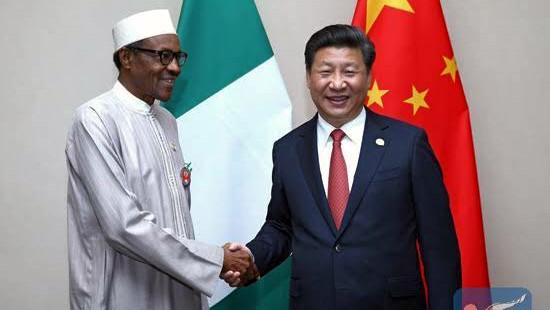 Buhari and Chinese President