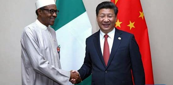 Buhari and Chinese President