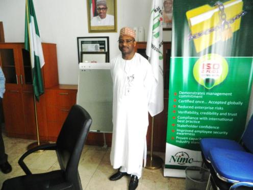 Engr. Aliyu Aziz, DG of NIMC