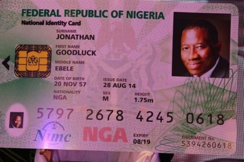Ex-president Goodluck Jonathan got his card in 2014, but what about 'ordinary' Nigerians?