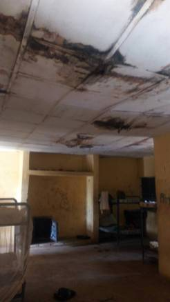 Dilapidated boys hostel