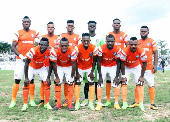 Image result for Akwa Utd beat Niger Tornadoes to clinch 2017 Aiteo Cup