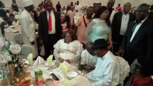 Former president, Goodluck Jonathan and others.