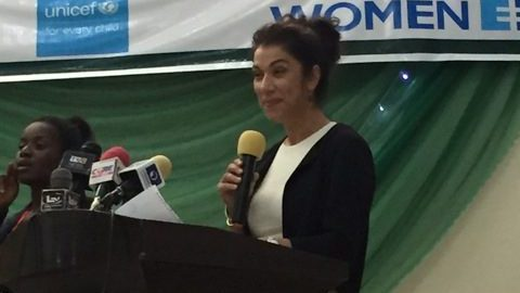Norwegian Deputy Minister for Foreign Affairs, Laila Bokhari.