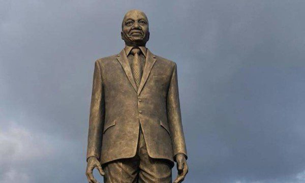 Jacob Zuma statue in Imo state