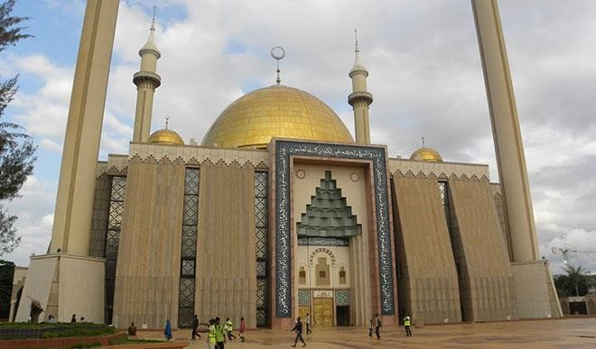 National Mosque Abuja. [Photo credit: Daily Trust]