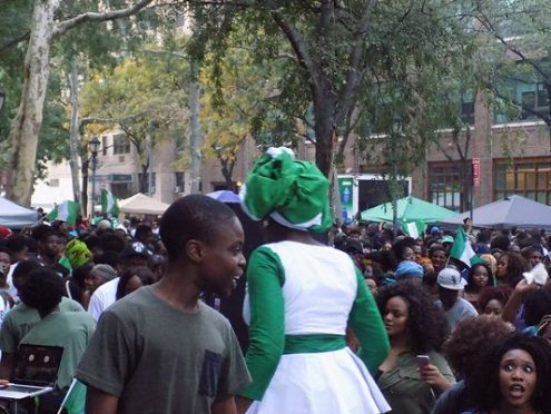 It was all fun as Nigerians celebrate Independence day in New York. [Photo credit: NAN]