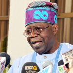APC Chieftain, Chief Bola Tinubu briefing State House Correspondents