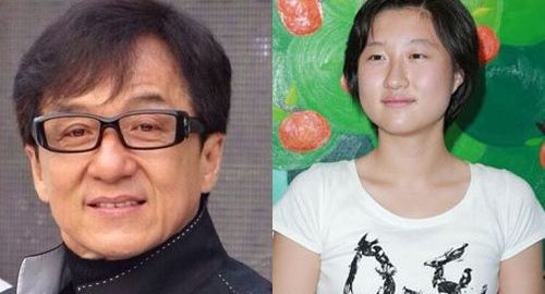 Jackie Chan and daughter,  Etta Ng. [Photo credit: LockerDome]