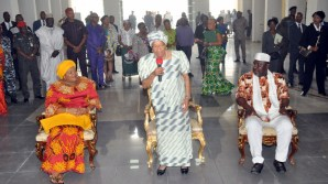 Ellen Johnson Sirleaf visits Imo