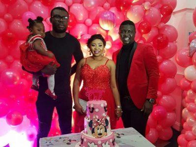 Popular Nigerian comedian, Oluwaseyitan Aletile, aka Seyilaw , celebrates baby's birthday.