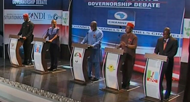 Anambra governorship election debate