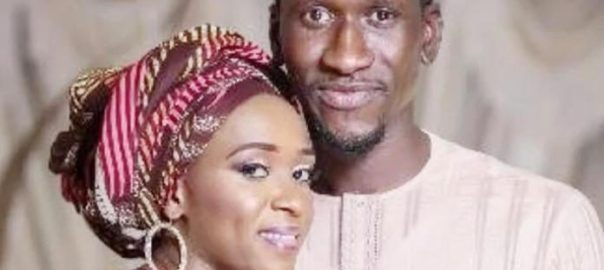 The victim, Mr. Haliru Bello and Wife, Maryam Sanda