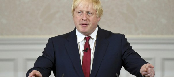 British Prime Minister, Boris Johnson
