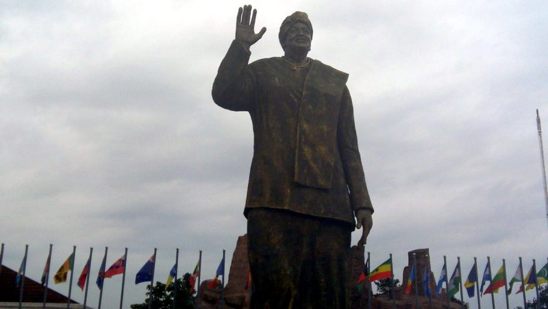 Statue erected in honour of Liberian President, Ellen Johnson-Sirleaf