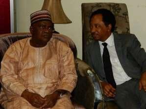 Senator Goje with Senator Shehu Sani