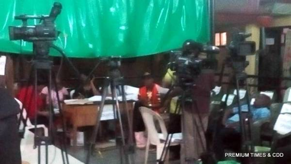 INEC collation centre