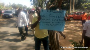 Teachers in Kaduna protest over the sack of 22,000 teachers