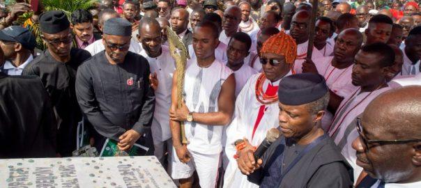 VP Osinbajo in Benin