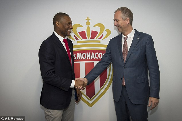 He has now taken a role with the Ligue 1 champs, working with vice-President Vadim Vasilyev (Photo Credit: Daily Mail)