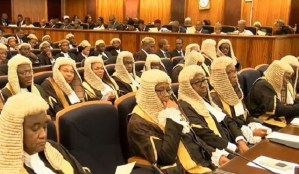 Nigerian judges used to illustrate the story, [Photo credit: 360Nobs.com]