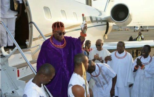 Umrah Banner: Oba Of Benin Makes 'first' Abuja Visit