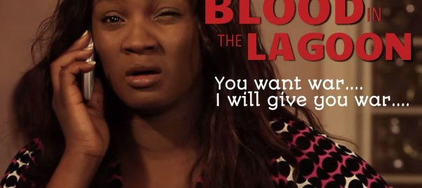 Omotola Jalade-Ekeinde in a scene in Blood in the Lagoon