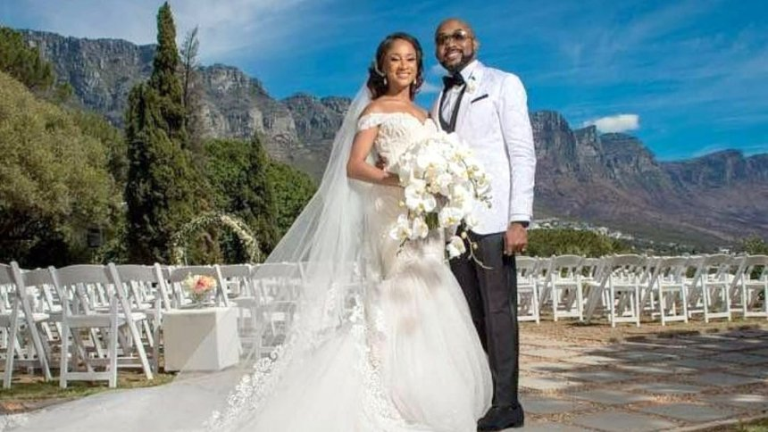 The Couple: Mr and Mrs Wellington (Banky W and Adesua Etomi)