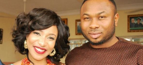 Nollywood actress, Tonto Dikeh and her estranged husband, Olakunle Churchill