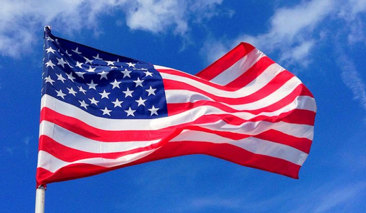 United States flag used to illustrate the story. [Photo credit: World Atlas]