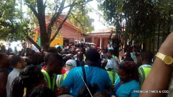 Uproar as Tony Nwoye arrives Illo abito square Nsugbe