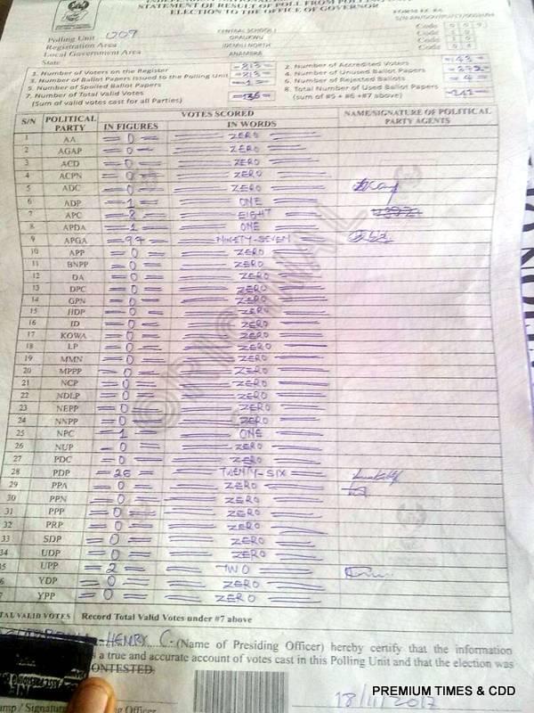 Oraukwu central school, PU 010, Idemiri north.