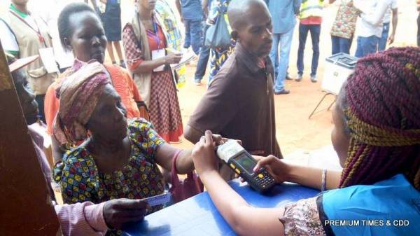 Voting started at eri primary school otuocha ward 1 Aguleri, polling unit 005.