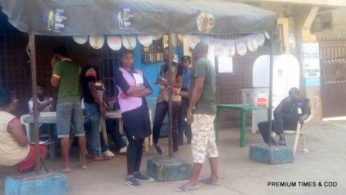 Onitsha North LGA, Iweobi Open space Ward11, PU 013, accreditation and voting have. The smart card readers are working.