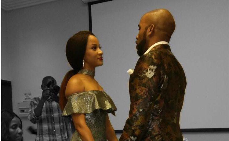Nigerian musician, Banky W and Nollywood actress Adesua Etomi's court wedding