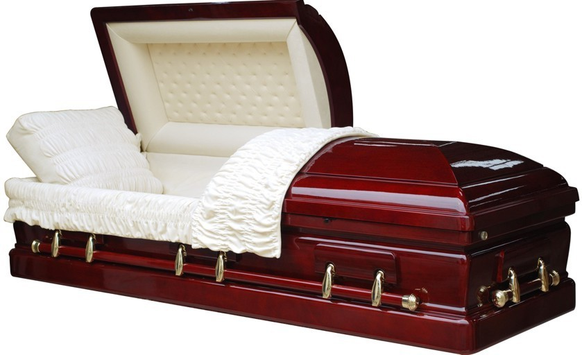 Coffin used to illustrate the story. [Photo credit: Overnight Caskets]