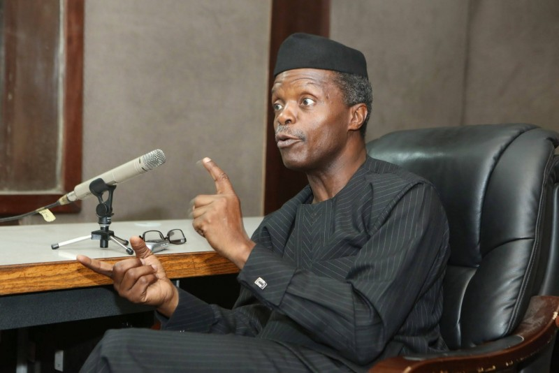 Image result for osinbajo in benue