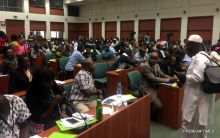 Public hearing on the controversial NGO bill.