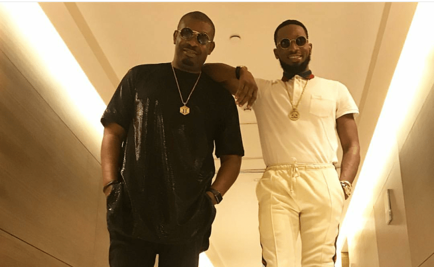 Image result for donjazzy and dbanj settles