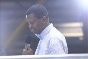 Pastor Enoch Adeboye‎, general overseer of the Redeemed Christian Church of God (RCCG)