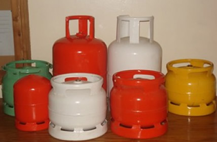 Cooking gas cylinders