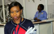 Manager of the civil society organisation, YIAGA, Cynthia Mbamalum. [Photo credit: News Express Nigeria]
