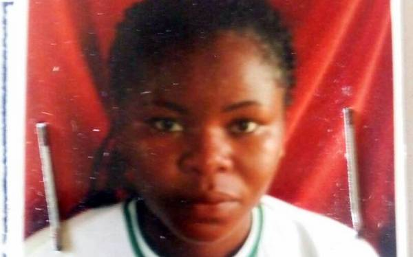 Female youth corps member killed by a driving instructor.