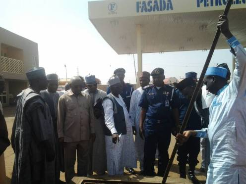 Task Force raids erring filling stations in Zaria