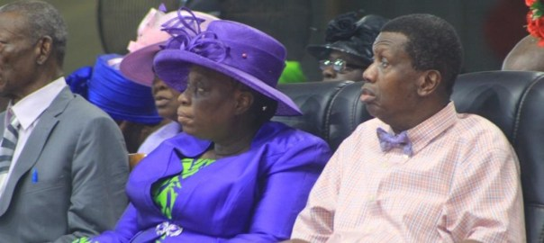 Pastor EA Adeboye and his wife. [Photo credit: Komolafe Segun (MD/CEO), SKenhanced Images]