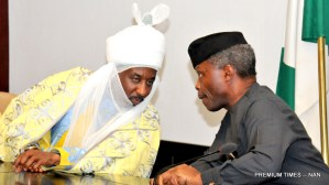 Pic 15. Vice President with Traditional Rulers and other Community Leaders on the Numan Crisis at the Presidential Villa
